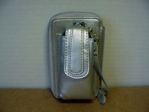 Wristlet Wallet Combination #08 Silver