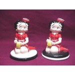 Betty Boop Salt & Pepper Shaker Set Nj Diner Design