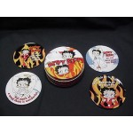 Betty Boop Coasters Angel/devil Design (retired)
