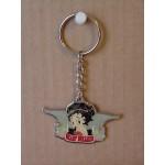 Betty Boop Key Chains Lot #35 Biker Heart Breaker Design Two Pieces.