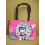 Betty Boop Tote Bag Biker Design Large (retired Item)