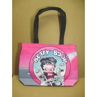 Betty Boop Tote Bag Biker Design Small (retired Item)