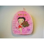 Betty Boop Small Back Pack Roses Design