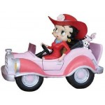 Betty Boop Driving Pink Comic Car (retired)