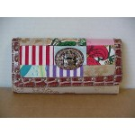 Betty Boop Tri-fold Wallet #004 Crown Design Multi Color