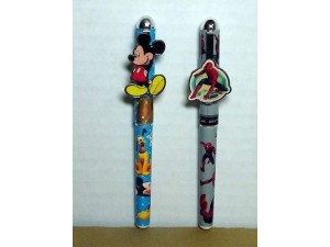 Mickey Mouse & Spiderman Pens Two (2) Piece Set #13