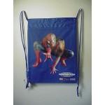 Spiderman - Book Bag / Cinch Sack Blue #41