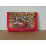 Cars Mini Tri Fold Wallet Red #20