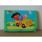 Dora The Explorer Mini Tri Fold Wallet Green #13