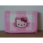 Hello Kitty Mini Tri Fold Wallet Light Pink #38