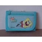 Spongebob Squarepants Mini Tri Fold Wallet Blue #35