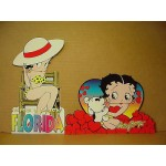Betty Boop Post Cards Two Piece Set #06 Die Cut (retired)