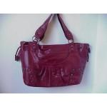 Pocketbook / Purse #02 Shoulder Bag Burgundy
