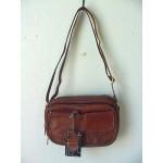 Pocketbook / Purse #18 Shoulder Bag Brown 3013