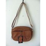 Pocketbook / Purse #20 Shoulder Bag Tan 3013