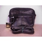 Belt Loop Purse Black #01 Horizontal