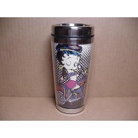 Betty Boop Tumbler Double Insulated Biker Design W20185