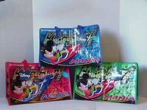 Disney Tote Bag Mickey Mouse #6 Kite Surf Mania Green