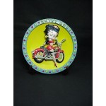 Betty Boop 3-d Plate Biker Design (retired)