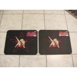 Betty Boop Rear Car Mats Star 1-pair