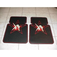 Betty Boop Front Car Mats Star 1-pair