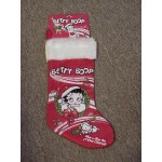 Betty Boop Christmas Stocking (wreath)