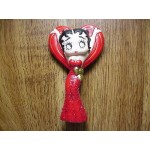 Betty Boop Ornament Red Gown