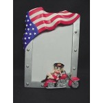 Betty Boop Picture Frame American Rider Biker (4 X 6 Picture)