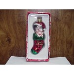 Betty Boop Ornament Glass Stocking Design