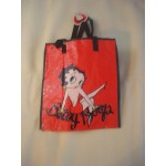 Betty Boop Tote Bag Leg Up Design - Red