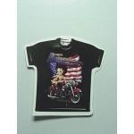Betty Boop T-shirt American Rider Size 3x