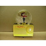 Betty Boop Musical Water Globe Radio Design W6846 (retired Item)