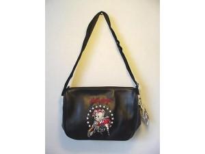 Betty Boop Pocketbook / Purse #49 Biker Design Black