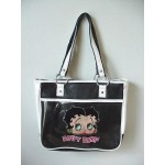 Betty Boop Pocketbook / Purse #70 Face Design Black & White