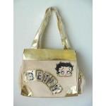Betty Boop Pocketbook / Purse #06 Cream Velour
