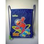 Elmo Book Bag / Cinch Sack Blue #36