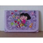 Dora The Explorer Mini Tri Fold Wallet Purple #12