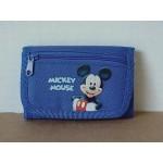 Mickey Mouse Mini Tri Fold Wallet Blue #02