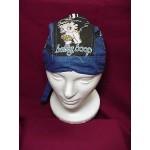 Betty Boop Do Rag Skullcap Biker Design Blue