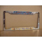 Betty Boop License Plate Frame  Metal Boop My Ride Design