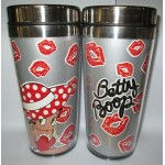 Betty Boop Tumbler Double Insulated Red Hat Design
