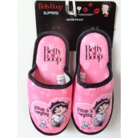 "Betty Boop Slippers ""attitude Is Everything"" Design"