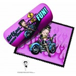 Betty Boop Eyeglass Case Biker Design