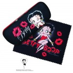 Betty Boop Eyeglass Case Kiss Design