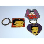 Betty Boop Key Chains Lot #09 Faces Designs Two Pieces.