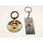 Betty Boop Key Chains Lot #11 Arms Up & Waving Designs Two Pieces.