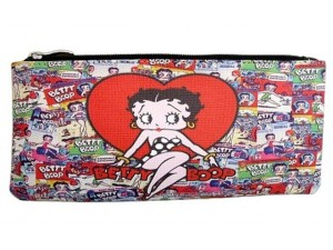 Betty Boop Make Up Bag Multi Poses Design