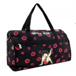 Betty Boop Overnight Bag Leg Up W/kisses Design
