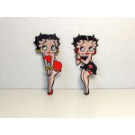 Betty Boop Patch Lot #17 Touching Knees & Classic Designs