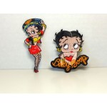 Betty Boop Patch Lot #20 Biker Babe & Leaning On Name Designs